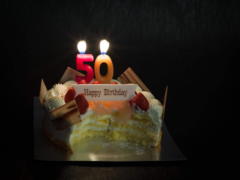 2日目のバースデーケーキ