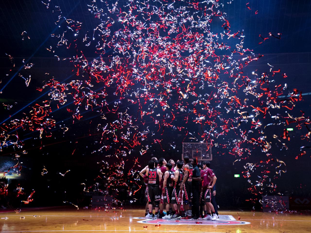 人生初バスケットボール・トップリーグ