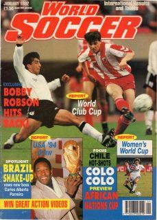 WORLD SOCCER 1992.01